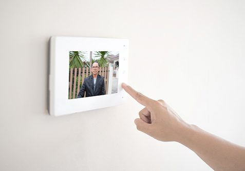 Door phone access control